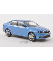 Skoda Octavia III, metallic-light blue, 2013