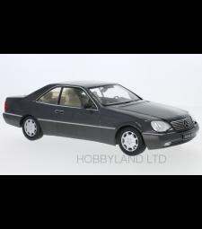 Mercedes 600 SEC (C140), metallic anthracite, 1992