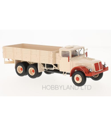 Tatra 111, Beige & Red Flatbed Platform Trailer