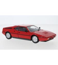 BMW M1, red, 1978