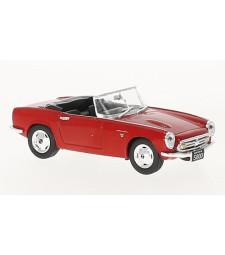 Honda S800, red, RHD, open, 1966