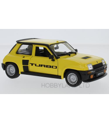 Renault 5 Turbo, yellow, 1982