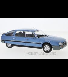 Citroen CX 2500 Prestige Phase 2, metallic-blue, 1986