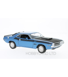 Dodge Challenger T / A, metallic blue / black, 1970s