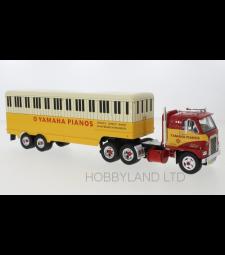 International Harvester DCOF-405, red/yellow, Yamaha Pianos, 1959