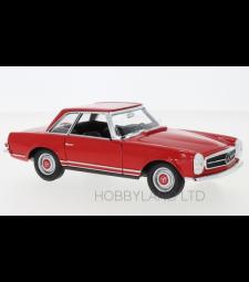 Mercedes 230 SL (W113), red, 1963
