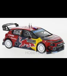 Citroen C3 WRC, No.1, Red Bull, WRC, Rallye Monte Carlo, S.Ogier/J.Ingrassia, 2019