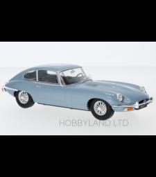 Jaguar E-Type, metallic-blue