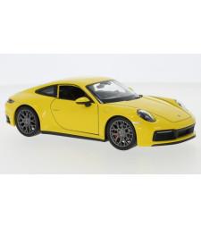 Porsche 911 Carrera 4S, yellow