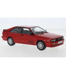 Audi quattro, red, 1980