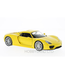 Porsche 918 Spyder, yellow
