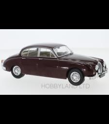 Jaguar MK II, dark red, 1960s
