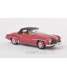 Mercedes 190 SL (W121 BII), dark red