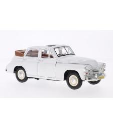 GAZ M20 Pobeda, white, Convertible-Limousine