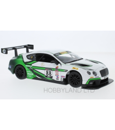 Bentley Continental GT3, white and green, No.88 A.Fong