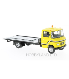 Mercedes L608 D Yellow Tow Truck, 1980