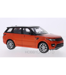 Land Rover Range Rover sport, metallic dark orange/black
