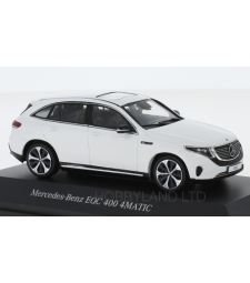 Mercedes EQC 400 4Matic (N293), white, 2019