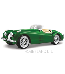 Jaguar XK 120 Roadster , green, 1948