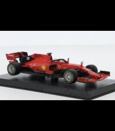 Ferrari SF90, No.5, scuderia Ferrari, formula 1, GP Australia, with figure of driver, S.Vettel, 2019