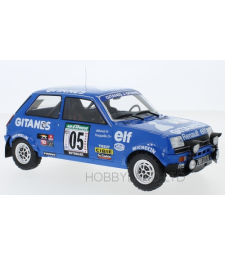 Renault 5 Alpine, No.5, Gitanes, Rallye Bandama, G.Frequelin/J.Delaval, 1978