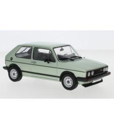 VW Golf I GTI, metallic-light green, 1983