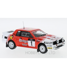 Toyota Celica Twincam Turbo (TA64), No.1, Toyota team Europe, Belga, Haspengouw Rallye, J.Kankkunen/F.Gallagher, 1985