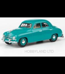 Skoda 1201, turquoise, 1956