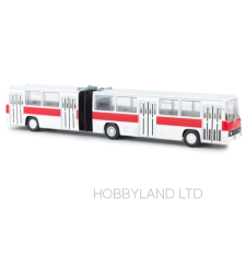 Ikarus 280 articulated bus, white/red TD