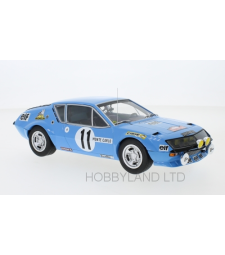 Alpine Renault A310, No.11, Rallye WM, Rallye Monte Carlo, A.Warmbold/J.Davenport, 1975