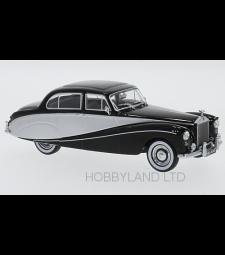 Rolls Royce silver Cloud Hooper Empress, Black & Silver, RHD