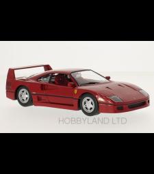 Ferrari F40, red