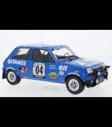 Renault 5 Alpine, No.4, Gitanes, Rallye Bandama, J.Ragnotti/J-M.Andrie, 1978