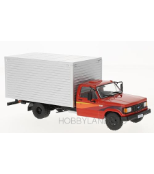 Chevrolet D-40 Box Truck, Red and Silver, 1985