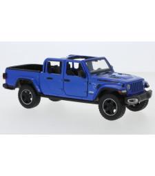 Jeep Gladiator Rubicon, Metallic-blue, Geoffnetes canopy,1:27, 2021
