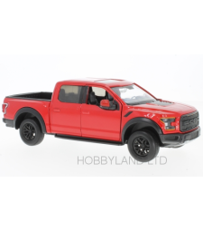 Ford F-150 Raptor, red, 2017
