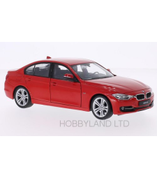 BMW 335i (F30), red, without showcase