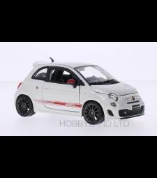 Fiat Abarth 500 Esseesse, white / decor, dark rims, 2011