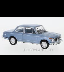 BMW 2002 ti, metallic blue, 1968
