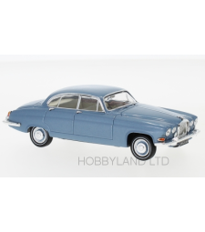 Jaguar MK X, metallic light blue, RHD, 1961