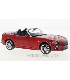 Fiat 124 Spider, red without showcase, 2007