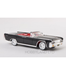 Lincoln Continental Convertible, black, 1963