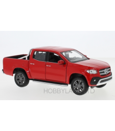 Mercedes X-Class, Red (scale aprox. 1:27-1:24)