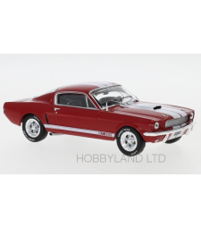 Ford Mustang Shelby GT 350, Red and White 1965
