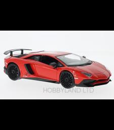 Lamborghini Aventador LP750-4 SV, light red