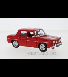 Renault R8 Gordini, red/white
