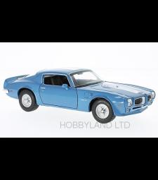 Pontiac Firebird Trans Am, blue/white, 1972