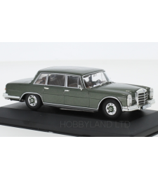 Mercedes 600 (W100), metallic-green, 1964