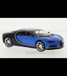 Bugatti Chiron, blue/dark blue