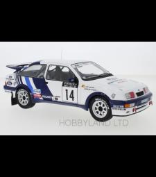 Ford Sierra RS Cosworth, No.14, Rallye WM, 1000 Lakes Rallye C.Sainz/L.Moya